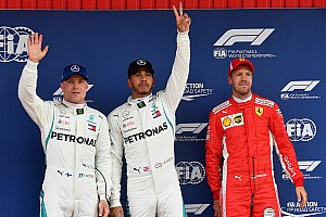 Formula 1 Qualifying report Spanish GP: Hamilton beats Bottas to pole by 0.040s