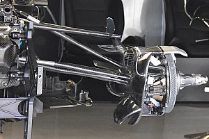 Formula 1 Analisi Mercedes: copiato dalla Sauber il profilo verticale sulla sospensione
