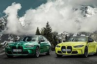 Négykerékmeghajtást, erősebb motort és új arculatot kapott a BMW M3 és M4 is