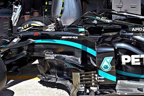 Mercedes: lezioni di micro aerodinamica sulla W11!