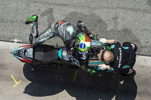Motori Yamaha: Morbidelli monta il quinto, Quartararo il quarto