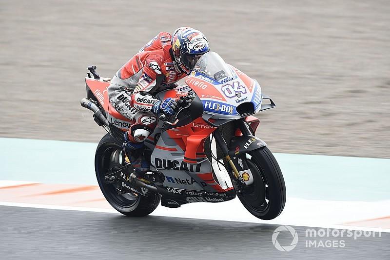 MotoGP Valencia: Dovizioso gewinnt Abbruchrennen, KTM auf dem Podium