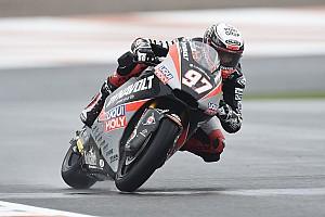 Moto2, Valencia, Libere 3: Vierge vola sull'umido, Tuuli continua a stupire