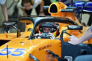 Sainz dice que la evolución que logró en Renault lo ayudará en McLaren