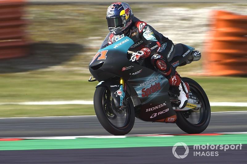 FP2 Moto3 Thailand: Sasaki puncaki sesi, Bezzecchi terjatuh