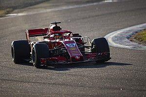 Fotogallery F1: i piloti FDA in pista a Fiorano con la Ferrari SF71H