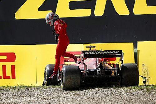 """Une """"bonne journée"""" pour Ferrari malgré le crash de Leclerc"""