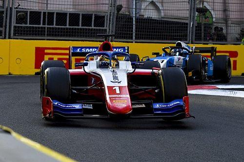 Шварцман финишировал на подиуме первой гонки Ф2 в Сочи