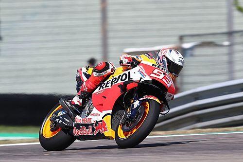 Márquez: Ganar es el combustible, pero no imagino estar como Rossi