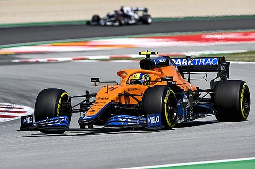 Norris jól kezdett pénteken, de a délután miatt törheti a fejét a McLaren