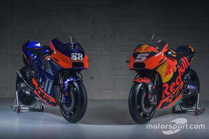 KTM apresenta motos para 2019 com Tech3 se inspirando na Toro Rosso