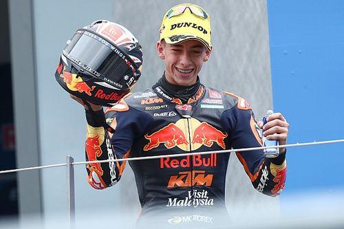 Acosta, 2022'de KTM ile Moto2'de yarışacak