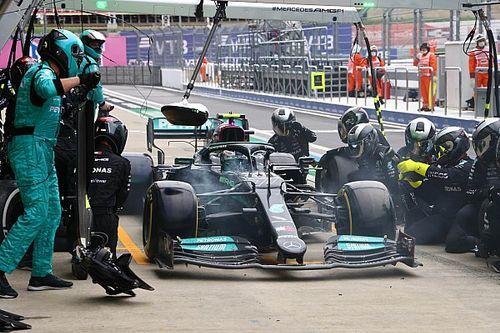 Mercedes wint ook strijd in pits tijdens GP van Rusland