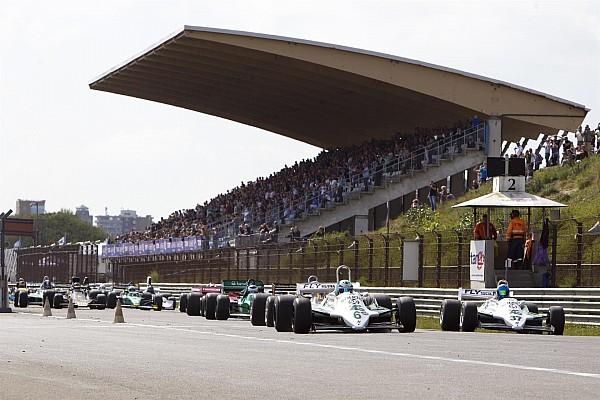 Retro Zware crash tijdens Historic Grand Prix Zandvoort
