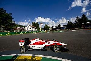 GP3 Отчет о гонке Леклер выиграл первую гонку в Спа