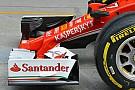 Ferrari: anche il muso della SF16-H ha la pinna
