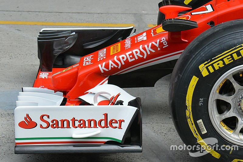 Ferrari: a Sochi debutta una nuova ala anteriore