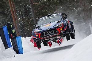 WRC Leg report Sweden WRC: Neuville leads Hyundai 1-2-3 by 4.9s