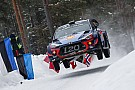 WRCスウェーデン:形勢逆転でヒュンダイが1-2-3独占。ラッピ7番手