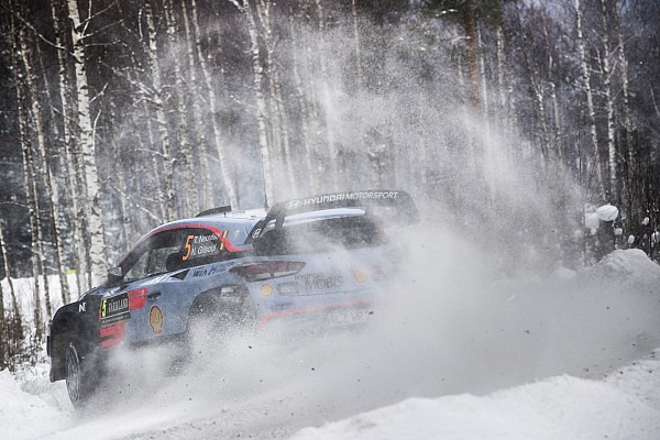 WRC Leg report Sweden WRC: Neuville leads into final day, top-six battles tighten