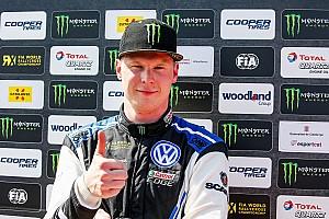 Kristoffersson domineert WK Rallycross in Noorwegen