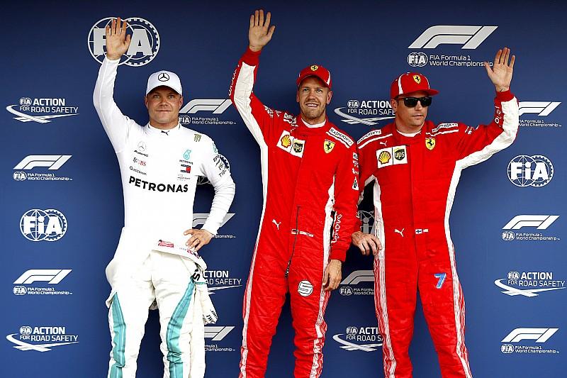 La parrilla de salida del GP de Alemania