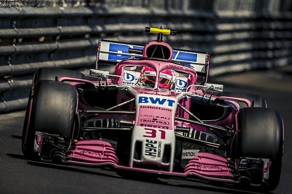 Le nouvel aileron avant arrive enfin chez Force India