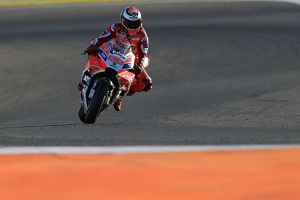 MotoGP ロレンソ、ドゥカティの開発の遅れを実感「何も真新しいものがない」