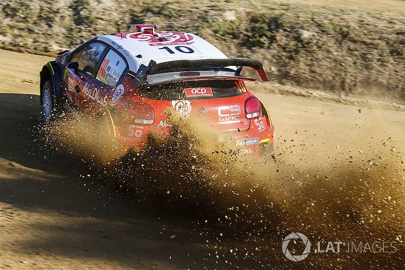 WRC-Rallye Portugal: Crash von Meeke, Neuville führt klar