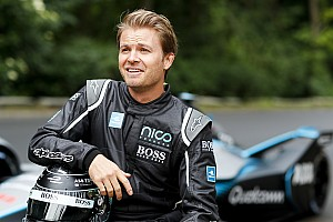 Fórmula E Últimas notícias GALERIA: Rosberg faz apresentação com novo carro da F-E