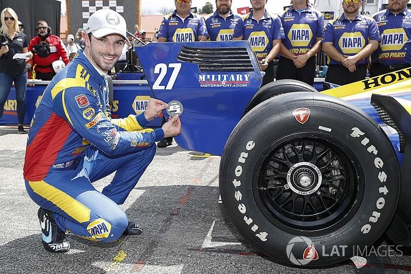 Mid-Ohio IndyCar: Rossi earns brilliant one-shot pole