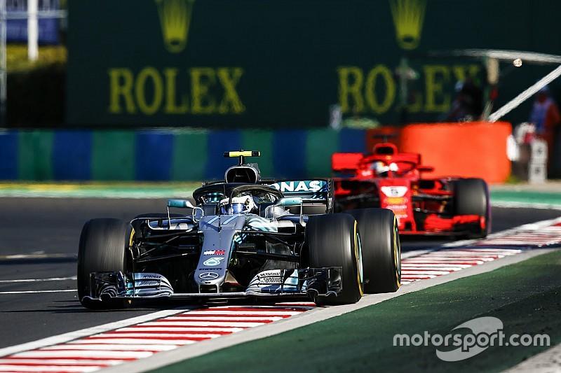 Vettel doubts Bottas stopped him from beating Hamilton