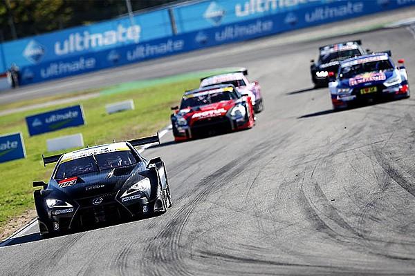 Видео: совместные заезды Super GT и DTM
