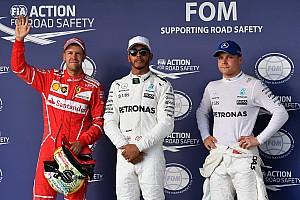 La parrilla de inicio del Gran Premio de Estados Unidos