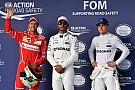 F1 La parrilla de salida del GP de Estados Unidos tras 95 posiciones de penalización