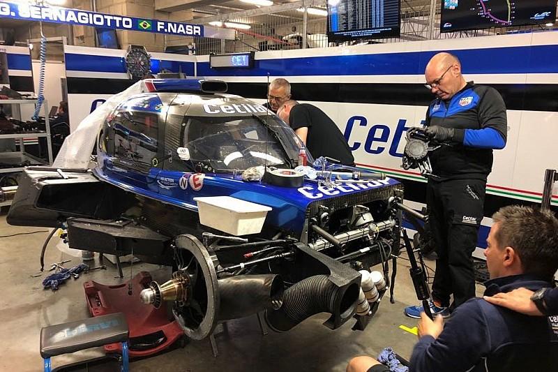 Le Mans: procede la ricostruzione della Dallara 217 della Cetilar Villorba Corse