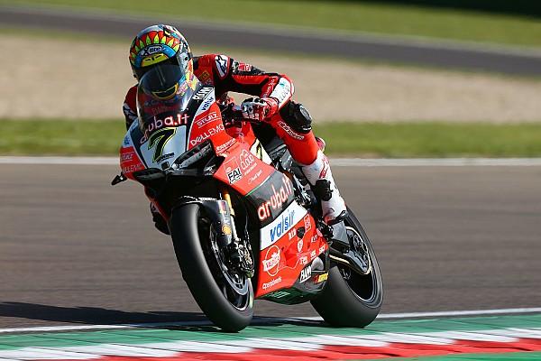 World Superbike Practice report WorldSBK Italia: Davies-Rea cetak catatan waktu sama