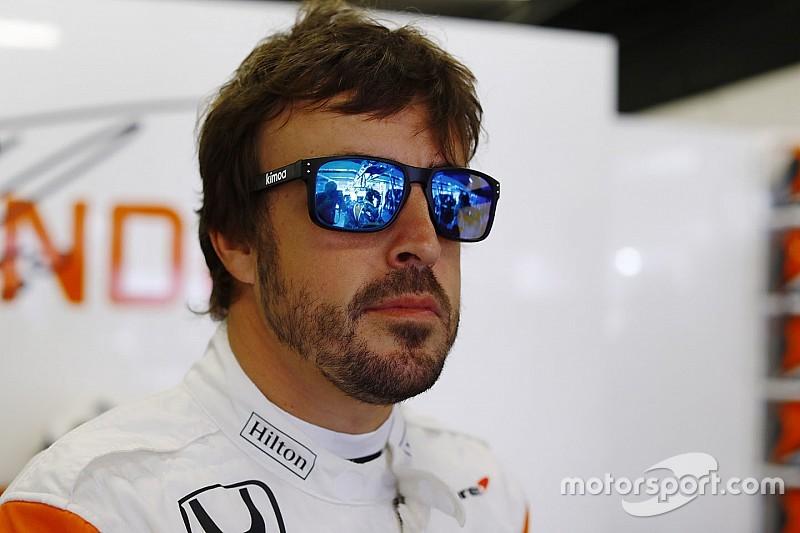 """Alonso: """"Prefiero prepararme que ver la tele en el motorhome"""""""