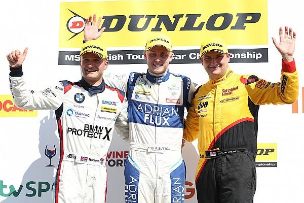 BTCC Rockingham BTCC: Sutton controls Race 2, extends points lead