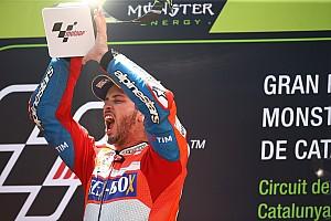 MotoGP 速報ニュース 【MotoGP】連勝のドヴィツィオーゾ「不思議な勝ち方のレースだった」
