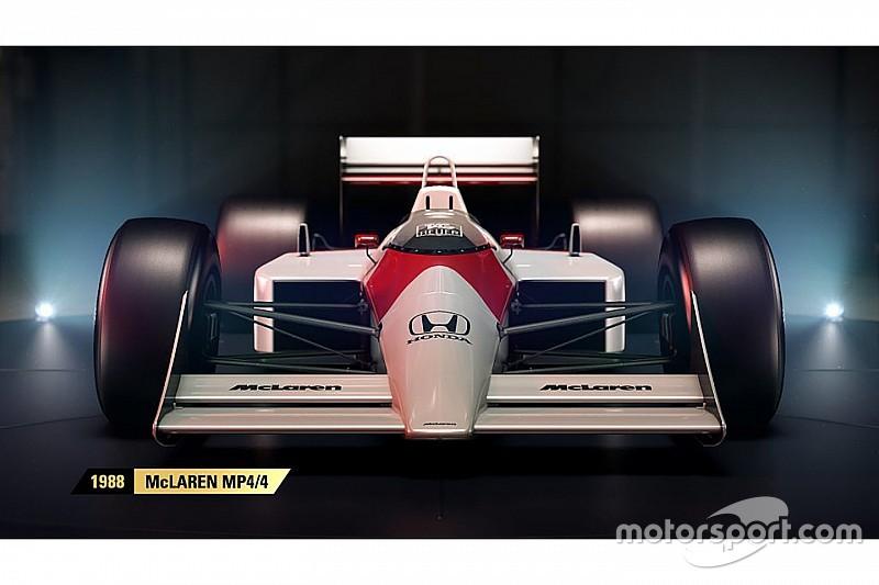 У відеогрі F1 2017 з'являться класичні боліди