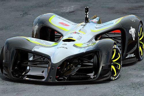 Roborace, dünyanın ilk otonom yarış aracı Robocar'ı tanıttı