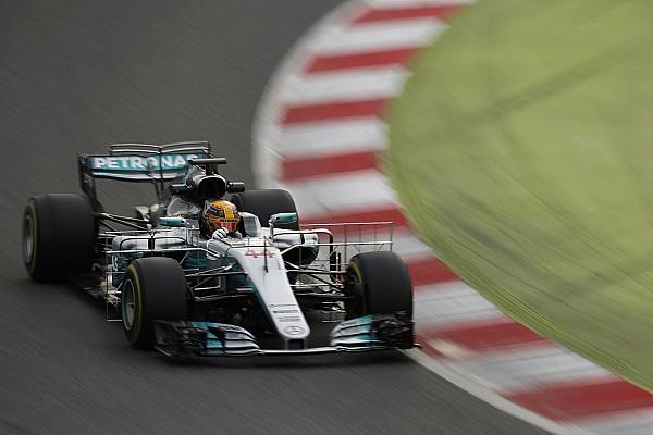 Формула 1 Новость Хэмилтон проехал быстрее и дольше всех в Барселоне