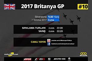 FORMULA 1 LİGİ Son dakika 2017 Britanya GP Sanal Turnuva: Canlı Yayın
