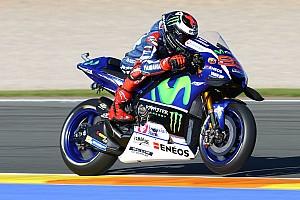 MotoGP Practice report Valencia MotoGP: Lorenzo leads Rossi in first practice