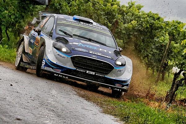 Tanak se aleja de Mikkelsen al frente del Rally de Alemania