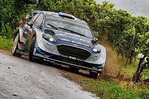 WRC Leg report Germany WRC: Tanak leads Mikkelsen after Saturday morning