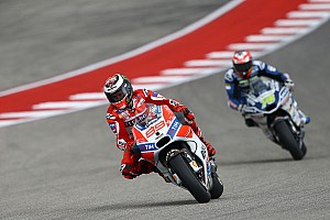 "MotoGP Breaking news Lorenzo feels ""not far away"" from podium fight in Austin"