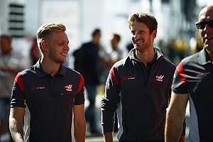 Formula 1 Breaking news Magnussen stopped Grosjean getting
