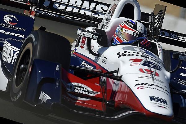 IndyCar Rahal manda en el warm-up en Sonoma y Muñoz en noveno
